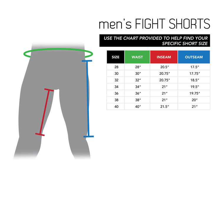 Men's Fight Shorts