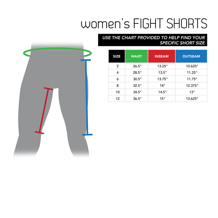 Women's Fight Shorts