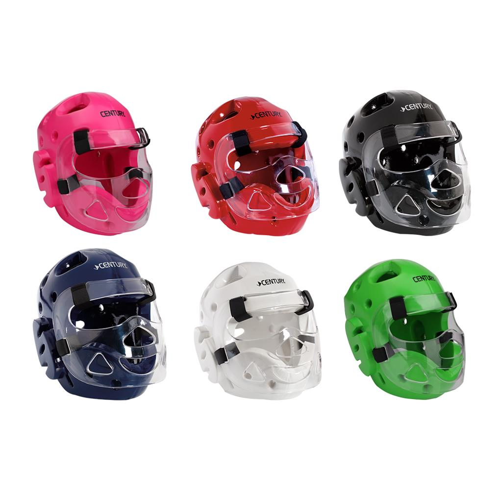 Century BLACK Sparring Gear Set  FULL HEAD gear with face shield SET