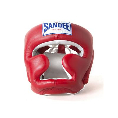 Sandee Closed Face Synthetic Leather Head Guard