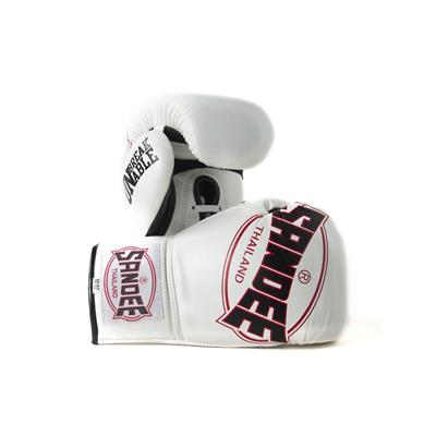Sandee Cool-Tec Lace Up Pro Fight Leather Boxing Glove